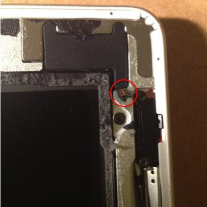 iPad 2 Ripped Ribbon Cable 2